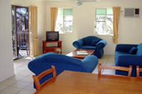 Lounge Room At Airlie Apartments